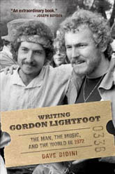 Writing gordon Lightfoot graphic